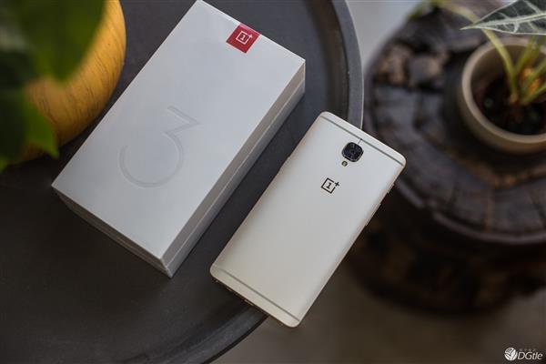 OnePlus 3 в золотом цвете поступит в продажу 1 августа – фото 1