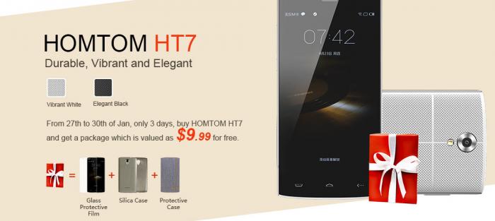 Homtom HT3, HT7 и HT6 в Banggood по низким ценам! – фото 2