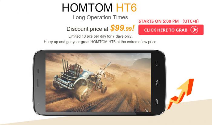 Homtom HT3, HT7 и HT6 в Banggood по низким ценам! – фото 3