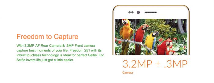 Ringing Bells Freedom 251 – смартфон стоимостью менее $4 с 4-дюймовым дисплеем и 4-ядерным процессором – фото 2