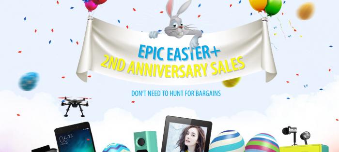 Распродажа смартфонов и другой электроники в честь 2-го дня рождения GearBest – фото 1