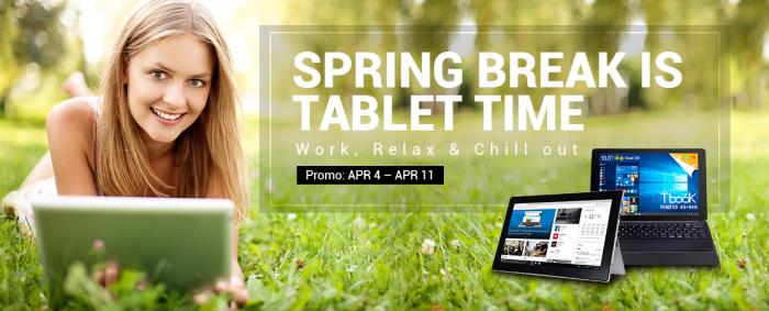 Неделя сниженных цен на планшеты в интернет-магазине Gearbest. Акция! – фото 1