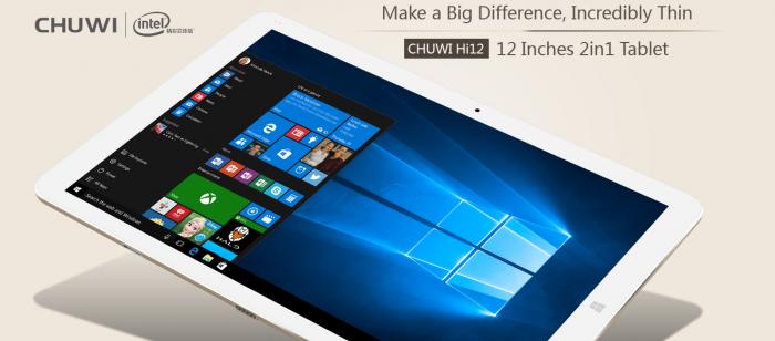 Chuwi Hi12: доступный двуликий планшет на Windows и Android – фото 1
