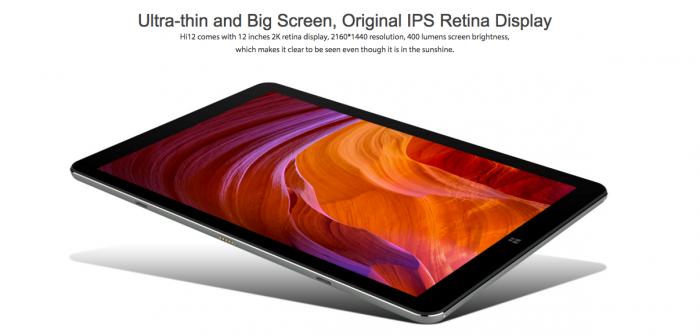 Chuwi Hi12: доступный двуликий планшет на Windows и Android – фото 2