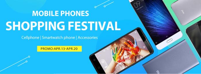 Фестиваль низких цен на смартфоны, смарт-часы и аксессуары в магазине Gearbest с 13 по 20 апреля – фото 1