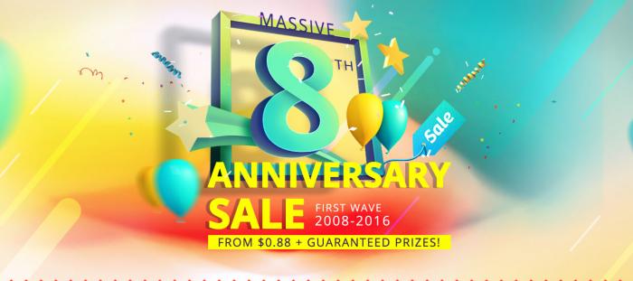 Не пропусти акции и распродажи в честь 8-летия магазина Everbuying.net! – фото 1