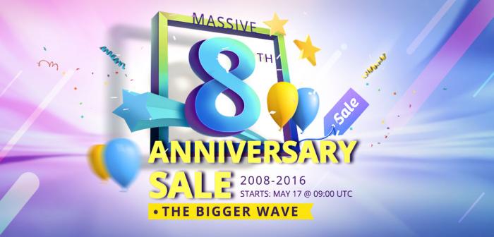 Еще одна волна распродажи от Everbuying.net в честь 8-летия и акция Luckybag – фото 1