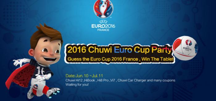 Угадай лучшие команды на Евро 2016 и выиграй планшеты и другие призы от Chuwi – фото 1