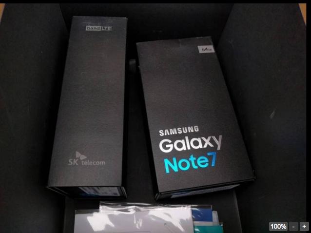 Инсайдеры показали коробку Samsung Galaxy Note 7 – фото 1