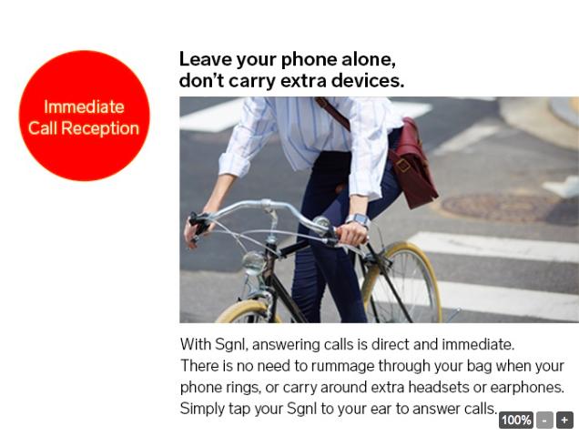 Проект Kickstarter: смарт-ремешок Sgnl для совершения звонков  кончиками пальцев – фото 3