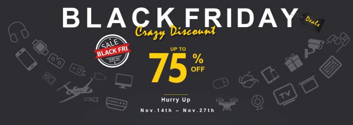 Черная пятница на Geekbuying.com: праздничная распродажа и возможность выиграть смартфон, роутер или смарт часы – фото 1