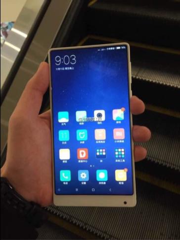 Xiaomi Mi MIX получит белый цвет корпуса – фото 1