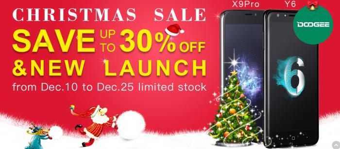 Рождественская распродажа смартфонов от Geek Planet – фото 1