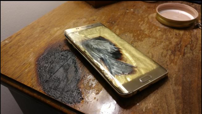 Samsung Galaxy S6 Edge тоже взрывается – фото 2