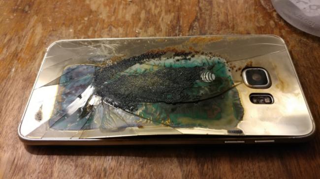 Samsung Galaxy S6 Edge тоже взрывается – фото 1