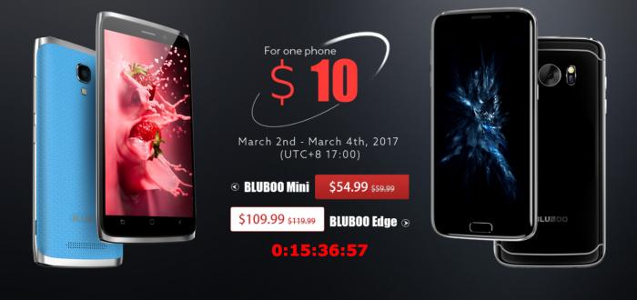 Раздача скидочных купонов на смартфоны Bluboo – фото 1