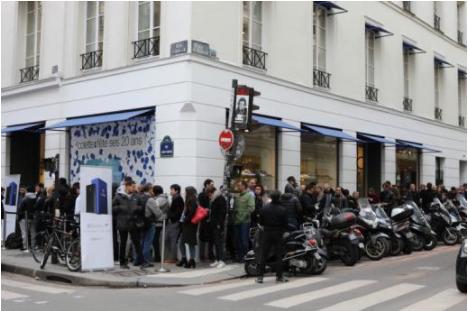 Очередь за OnePlus 3T Colette Edition в Париже и тизер, как намек на выход флагмана в черном цвете – фото 3