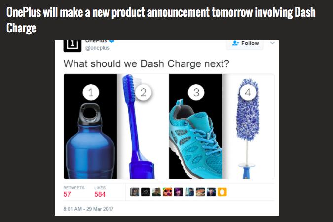 OnePlus обещает новый продукт с поддержкой Dash Charge – фото 2
