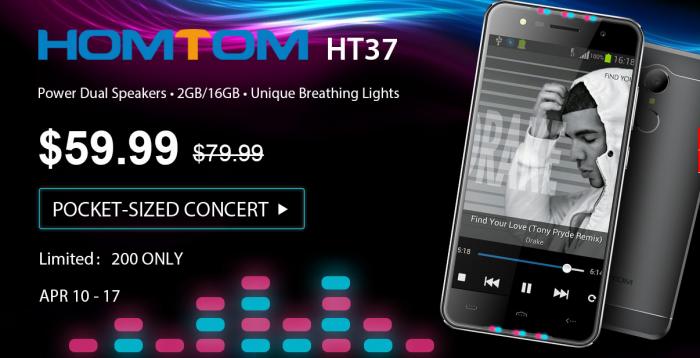 OnePlus 3T, UMi Z, смартфоны HomTom и планшеты в распродаже на Gearbest – фото 3