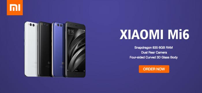 Geekbuying начал прием предзаказов на Xiaomi Mi6 – фото 1