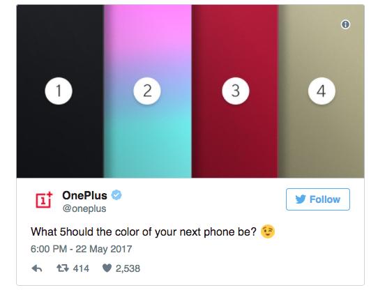 OnePlus 5: новый тизер, выбор цвета корпуса и что будет с 3,5 мм аудиоджеком – фото 3