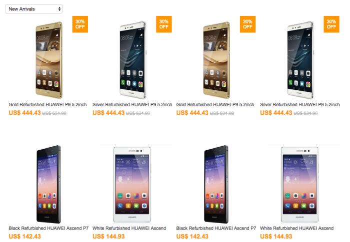 Выгодные цены на восстановленные смартфоны Huawei и другие устройства от интернет-магазина CNDirect – фото 2