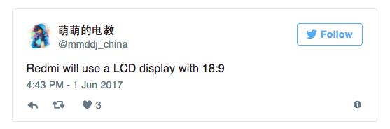 В серии Xiaomi Redmi может появиться смартфон с LCD-дисплеем с соотношением сторон 18:9 – фото 2