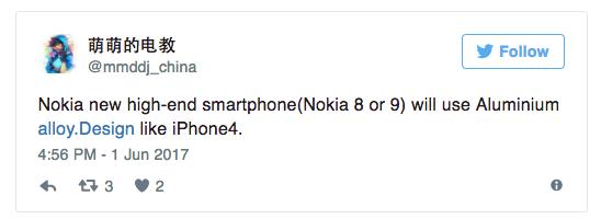 Nokia 8 и Nokia 9 приписывают сходство с iPhone 4. В Geekbench вновь замечены тесты Nokia 9 – фото 2