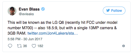 LG готовит к выходу мини версию своего флагмана G6 – фото 3