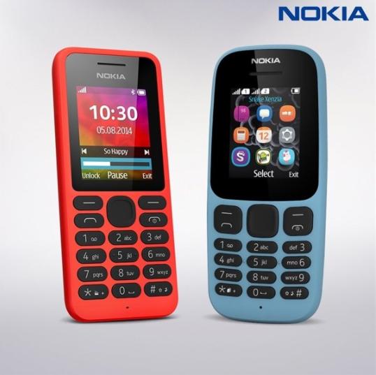 Nokia 105 и 130 возвращаются в новом дизайне – фото 1
