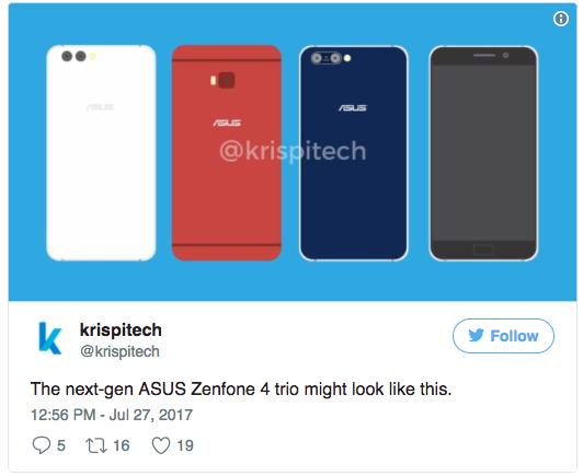 Линейка ASUS ZenFone 4 дебютирует 19 августа – фото 2