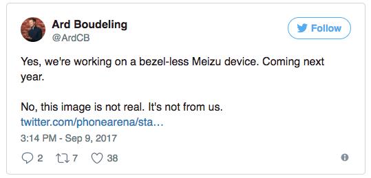 Рендер mblu Zero фейк, но безрамочный смартфон от Meizu обещан – фото 1