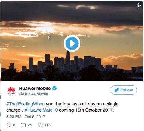Подтвержден аккумулятор на 4000 мАч в Huawei Mate 10 – фото 2