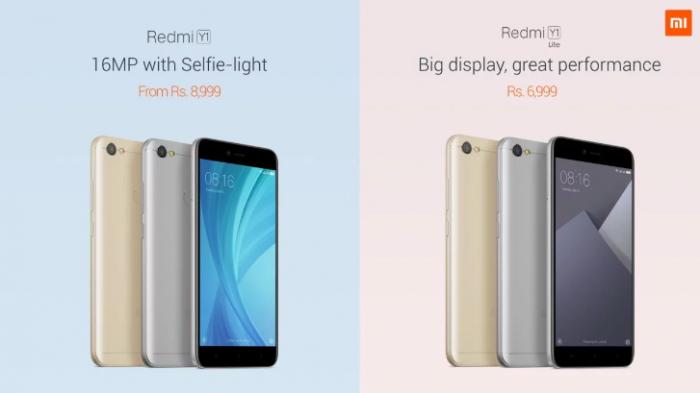 Xiaomi Redmi Y1 и Redmi Y1 Lite — селфифоны из новой линейки смартфонов – фото 2