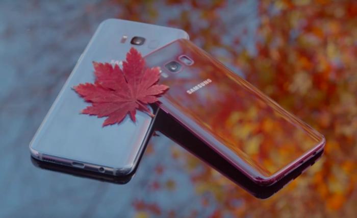 Samsung Galaxy S8 оделся в красный – фото 3