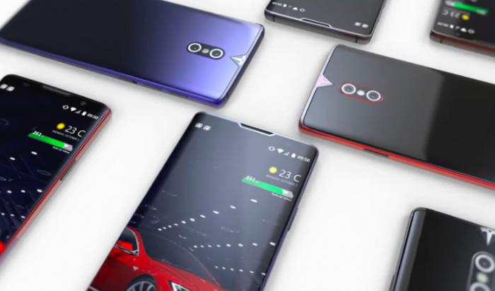 АвтоМобильно: концепт смартфона Tesla – фото 1