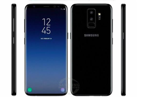 Samsung Galaxy S9 и Galaxy S9+ показали на качественных рендерах – фото 1