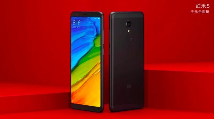Xiaomi Redmi 5 и Redmi 5 Plus на официальных пресс-рендерах – фото 1
