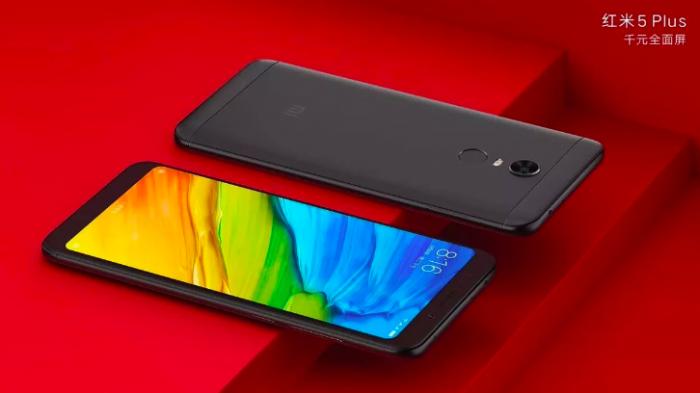 Xiaomi Redmi 5 и Redmi 5 Plus на официальных пресс-рендерах – фото 2