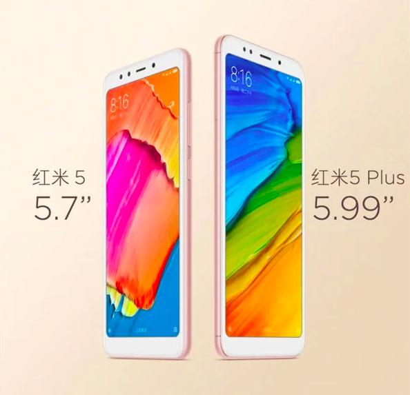 Анонс Xiaomi Redmi 5 и Redmi 5 Plus: полноэкранные доступные смартфоны на платформах Qualcomm от $120 – фото 1