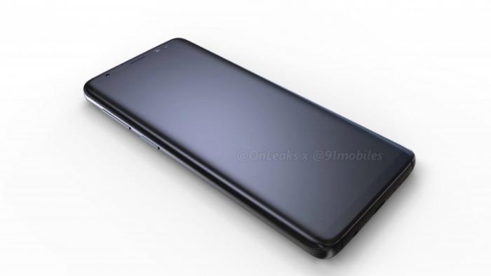 Показали 3D-рендеры Samsung Galaxy S9 и Galaxy S9+ – фото 1
