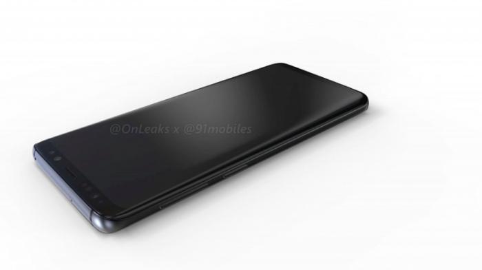 Показали 3D-рендеры Samsung Galaxy S9 и Galaxy S9+ – фото 2