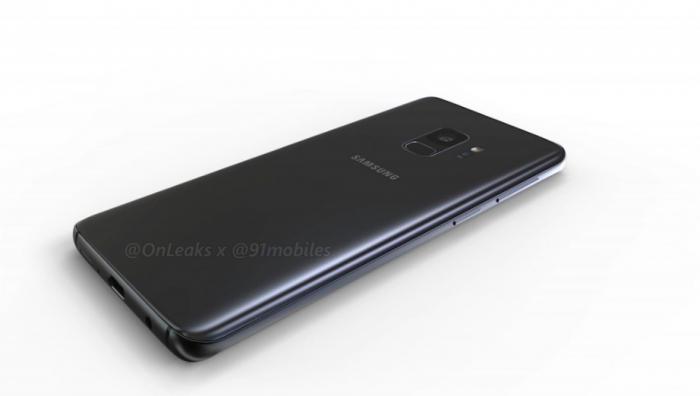 Показали 3D-рендеры Samsung Galaxy S9 и Galaxy S9+ – фото 4