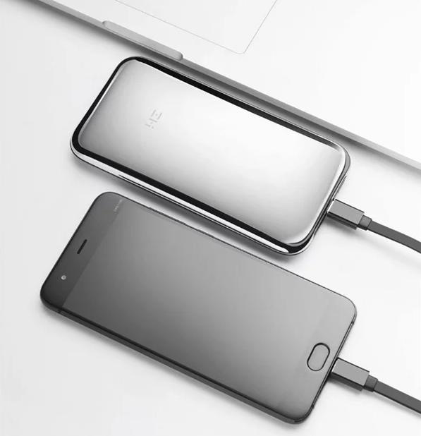 Xiaomi выпустит внешний аккумулятор на 6000 мАч в корпусе из нержавеющей стали – фото 1