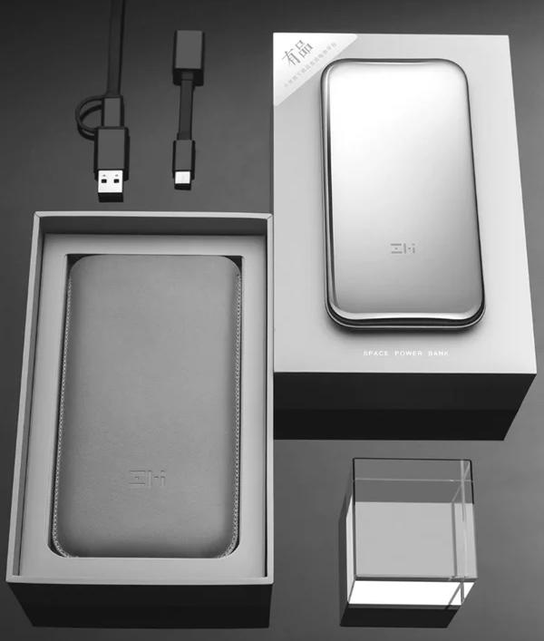 Xiaomi выпустит внешний аккумулятор на 6000 мАч в корпусе из нержавеющей стали – фото 2