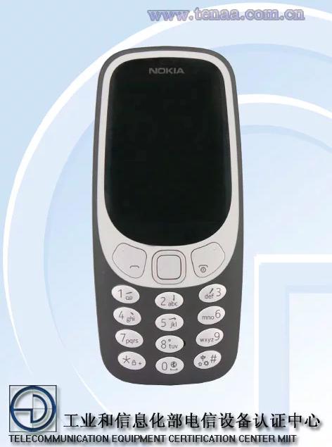 Nokia 3310 4G сертифицирован в Китае – фото 1