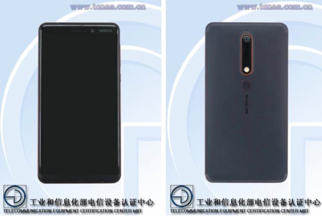 Подробности о Nokia 6 (2018) засветились в TENAA – фото 1
