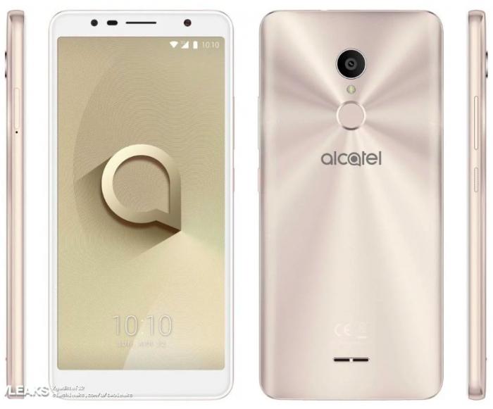 «Безрамочник» Alcatel 3c: характеристики, рендеры и цена – фото 1