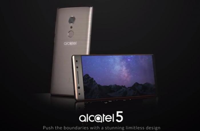 Alcatel 5: рендеры, характеристики и цена – фото 1