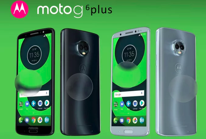 Moto G6 и Moto G6 Plus: рендеры и характеристики – фото 1